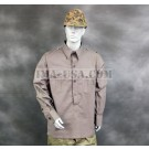 German WWII Wehrmacht Olive Grey Field Shirt